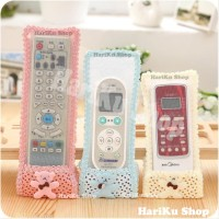 Sarung Remote Motif Beruang / Pelindung Remote / Cover Remote - X310