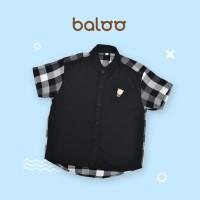 BALOO KAOS KEMEJA ANAK ANTI BAKTERI-Baju Anak Laki Racing Kemeja Anak