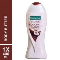 PALMOLIVE Body Butter Coconut Scrub Body Wash 400ml / 400 ml