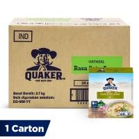 Quaker Instant Oatmeal Soto Ayam Box 4s [1 Carton - 24 Pcs]
