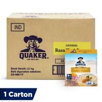 Quaker Instant Oatmeal Kari Ayam Box 4s [1 Carton - 24 Pcs]
