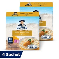 Quaker Oatmeal Kari Ayam Box 4 Sachets - Twin Pack