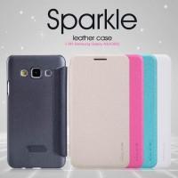 Samsung Galaxy A3 (A300) Nillkin Flip Case (Sparkle Leather Case)