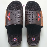 Sandal Refleksi Pria Sendal Terapi Kesehatan Laki Laki Karet Cowok