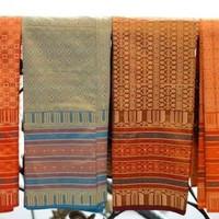 kain songket -selendang dewasa pakaian adat Sumatra baju Nusantara