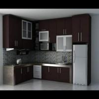 Kitchen set pontianak murah