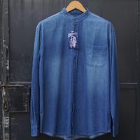 EASTLORE Shanghai Denim Shirt BLUE BIGSIZE - Kemeja JEANS JUMBO SIZE