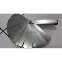 Feeler Gauge 0.02 - 1 mm 32 ukuran