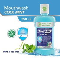 Total Care Mouthwash Cool Mint 8 Protection [250 mL]