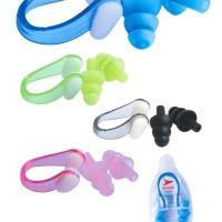 Klip Tutup Hidung Telinga untuk Renang Berenang Snorkeling Speeds
