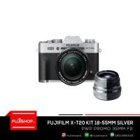 Fujifilm X-T20 XC 18-55mm Silver PWP XF 35mm F2