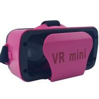 TOP SELLER VR MINI VIRTUAL REALITY GLASSES 3D MINI - PINK KEKINIAN