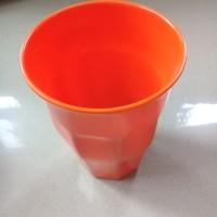 Gelas Belimbing Jumbo 550ml Orange Melamine - Golden Dragon B0502