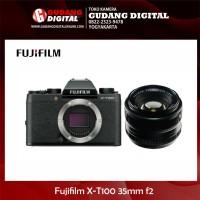 Harga kamera mirrorless fujifilm xt100 x t100 kit 35mm | Pembandingharga.com