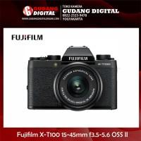 Harga kamera mirrorless fujifilm xt100 x t100 kit 15 45mm f3 5 5 6 oss | Pembandingharga.com