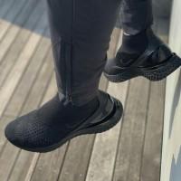 "Nike Rise React High Flyknit full black""BNIB"" Premium"