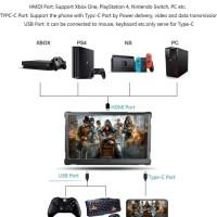 G-Story 15.6 Inch 4K Portable Gaming Monitor - Monitor Game 156UR