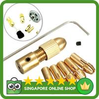 Harga termurah drillpro 8 pcs 0 5 3mm bor listrik kecil   antitipu.com