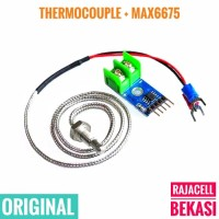 MAX6675 K-Type Thermocouple High Temperature Sensor for Arduino