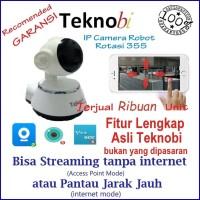 "Wireless IP CCTV Dengan Sensor gerak ""alarm"", Remote Android & iOs"