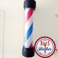 Lampu Barbershop ( Barber Pole ) 75x18cM Untuk Barbeshop ..