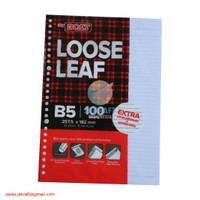 Loose Leaf Kertas File Note Isi 100 Binder Joyko B5 7026 Berkualitas