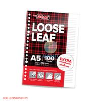 Loose Leaf Kertas Binder File Note Joyko A5 7020 Isi 100 Berkualitas