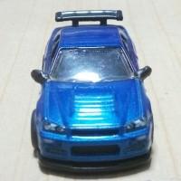 Hot Wheels Nissan Skyline R34 Loose Unrivet Ban Karet   HW Loose