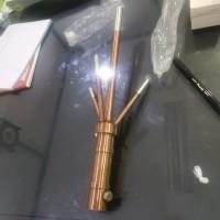 """penangkal petir trisula 3/4""""copper"""