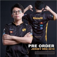 Jersey RRQ 2019 Mobile Legends. - AOV Dota Gaming Free Nickname Hitam