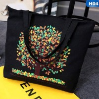 Simple Casual Canvas Tote Bag