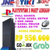 Ps2 fat Hdd external murah Playstation Ps 2 fat Sony