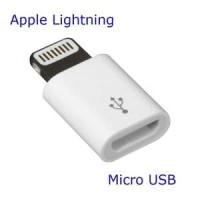 Konektor Micro USB to Lightning 8pin iPhone Adapter Converter Adaptor