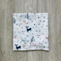 Kain Bedong Bayi Bamboo Muslin Swaddle Hoppipollakids - Bambi