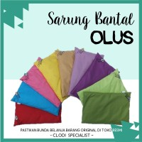 ORIGINAL Sarung Bantal Olus Pillow / Cover Bantal Anti Peyang Bayi