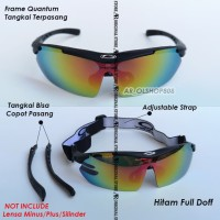 Kacamata Sepeda MTB Oak*Ley Quantum Minus Plus Motor Frame Polarized 5