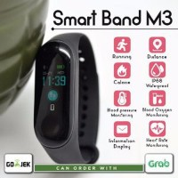 Smartwatch Bluetooth M3 Smart Band Color Screen Sport Monitor OLED