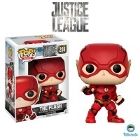 Funko POP! Heroes Justice League - The Flash #208