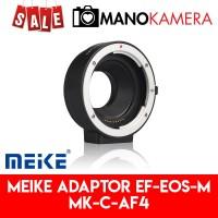 Adaptor Lensa Meike Canon EF EFS To EOS M Lens Adaptor Mount MK-C-AF4