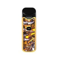 POD STARTER KIT - SMOK NORD KIT 1100MAH AUTHENTIC YELLOW PURPLE RESIN
