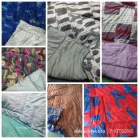 selimut dakron bed cover 200x240 tanpa sprei perca mylove california