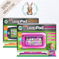 LeapFrog LeapPad Leap Pad Ultimate Ready for School Tablet Pink Green