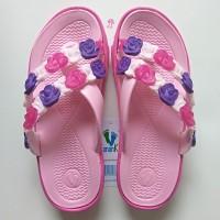 Sandal Jepit Anak Cewek Sendal Karet Bunga Perempuan Cewek Keren