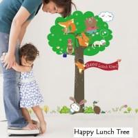 Wall Sticker 60x90 Happy Lunch Tree Wallsticker Gambar Stiker Dinding