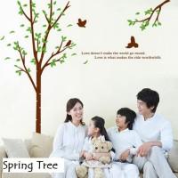 Wall Sticker 60x90 Spring Tree - Wallsticker Gambar Stiker Dinding