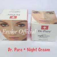 [ECERAN ] NIGHT CREAM DR PURE BPOM NA 18140101423