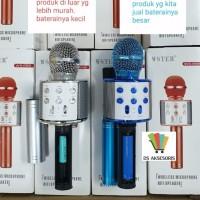 Harga mic karaoke bluetooth ws 858 microfon wireless bluetooth | antitipu.com