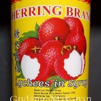 Leci Kaleng / Lychee In syrup Herring 567gr (Kartonan isi 12 kaleng)