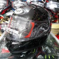 Helm Full Face KYT K2 Rider Solid Black Metalic