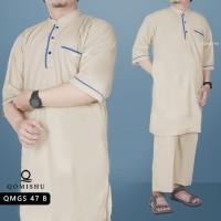 Big Size Baju Koko Pria / Gamis Pria Pakistan / Baju Muslim / QMGS 47